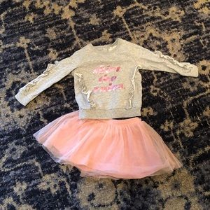"""kate spade """"Skirt The Rules"""" Top and Tulle Skirt"""